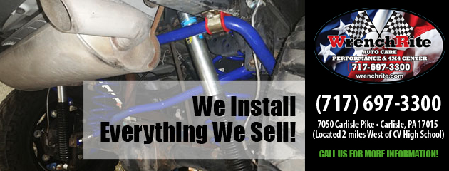 We install everything we sell!